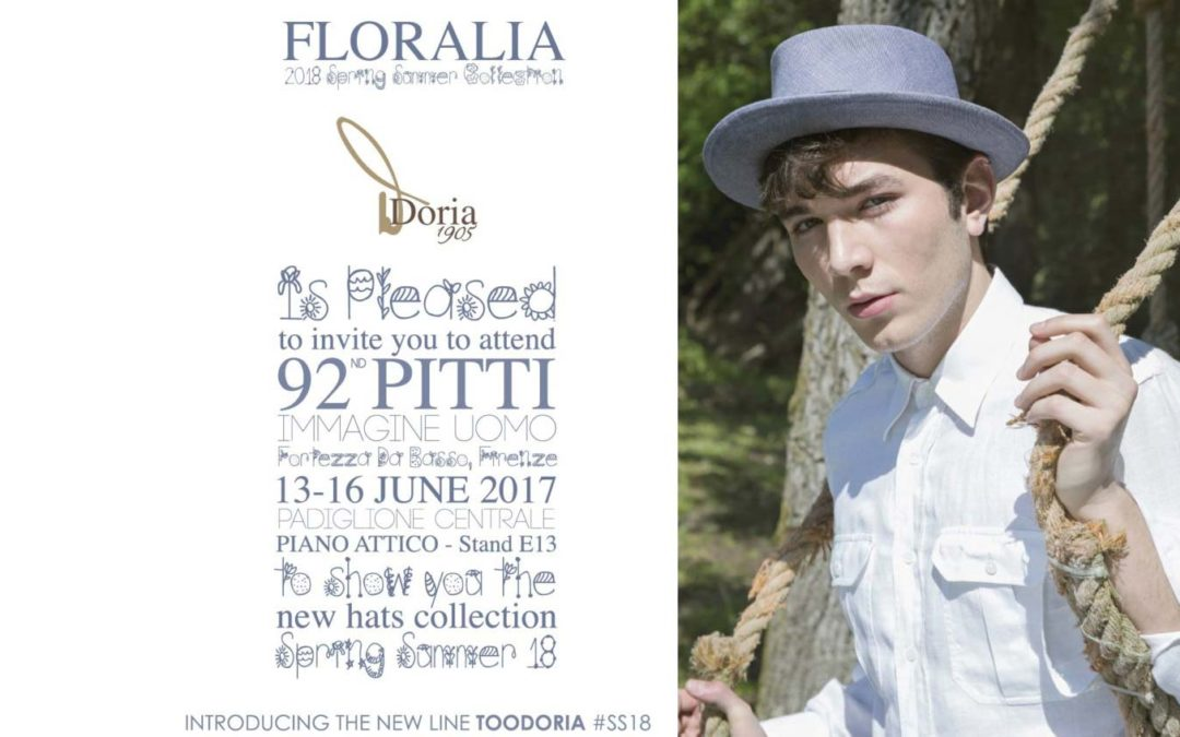 DORIA 1905 at PITTI IMMAGINE UOMO 92 // FLORALIA SS18 Collection