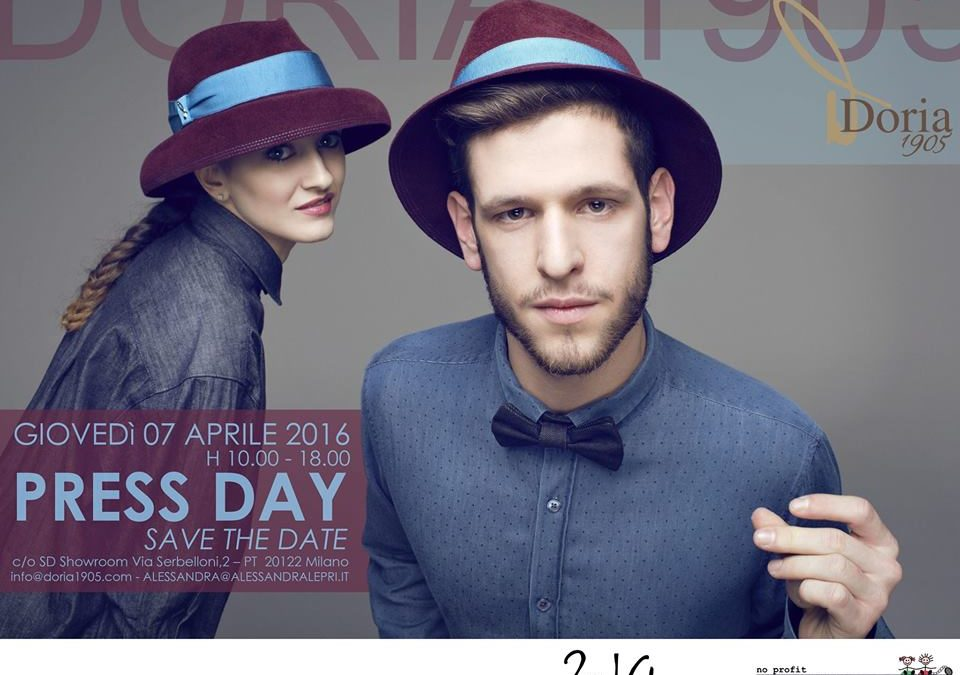 "07 Aprile 2016_PRESS DAY DORIA1905 with ""2nd Chance_Made in Carcere"""