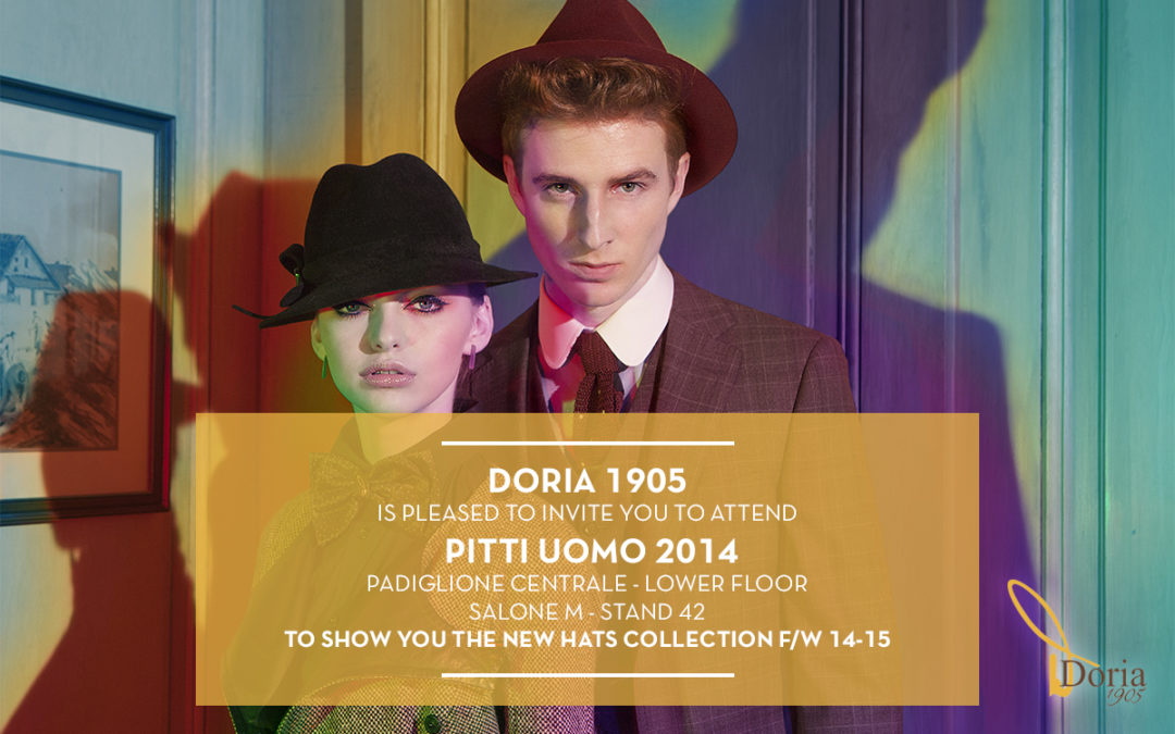 Doria 1905 a Pitti Uomo