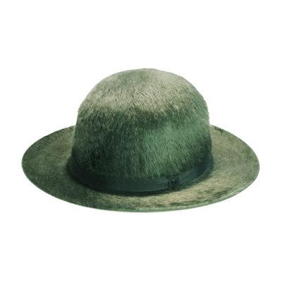 Cappello arrotolabile verde sottobosco