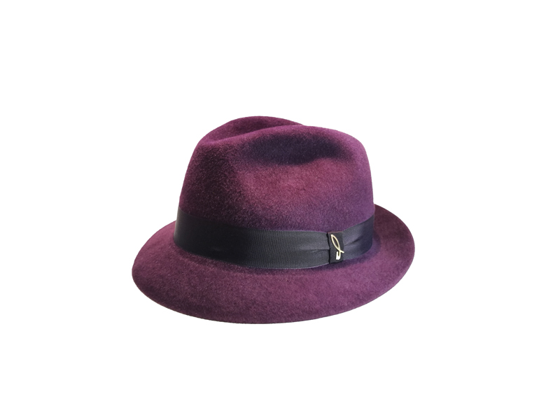 26440bc9eaefc Velour Felt Trilby Hat