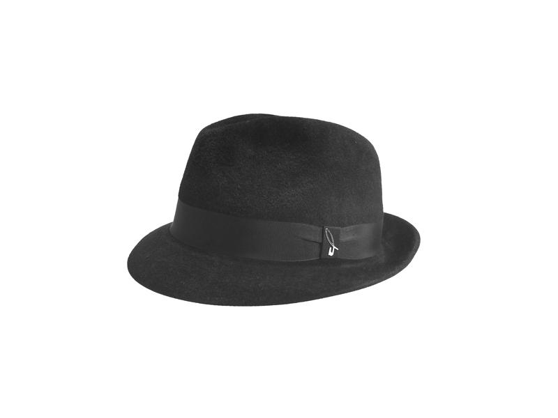 Velour Felt Trilby Hat 010cbf73c92