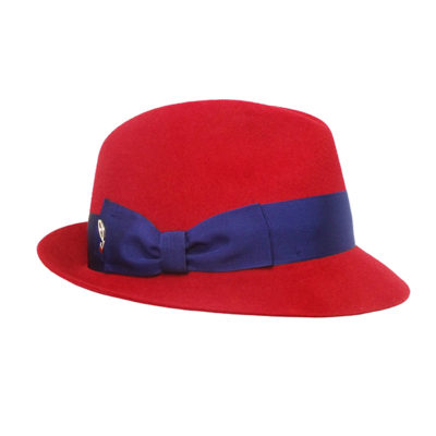 "038a5ff671712 Felt Trilby Hat with ""Doria"" Bow"