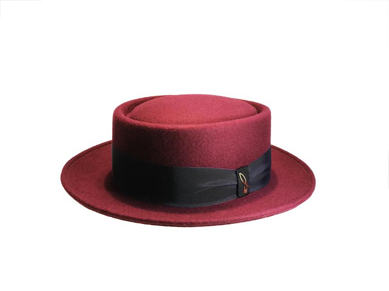6fe355af0e4 Giuliano. Pork-Pie felt hat - Doria 1905