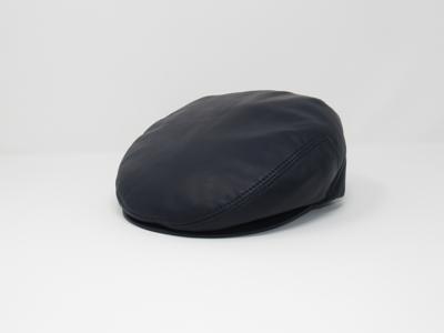Buck. Classical leather flat cap a8eb8d8158a