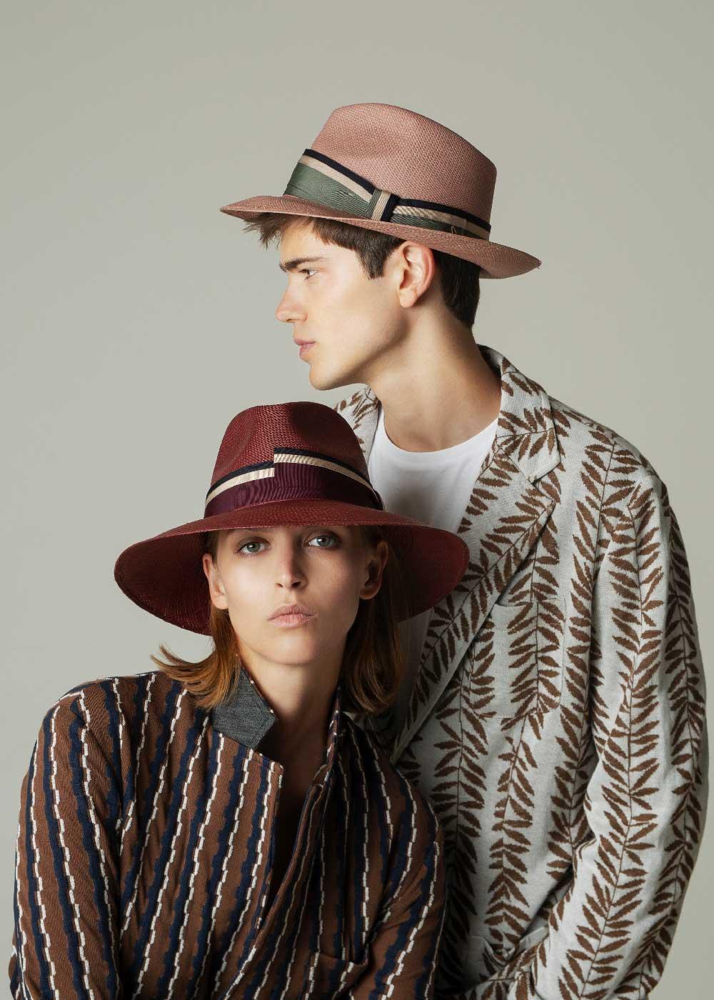 Mirto Cappello Fedora di Paglia Naturale Doria 1905