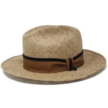 Mirto Fedora Straw Hat Natural Doria 1905