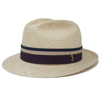 Sam Fedora Cappello Panama Naturale Chianti Doria 1905